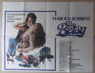 Betsy, Original UK Quad, Laurence Olivier, Robert Duvall, '78